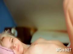 enjoyable girl masturbating