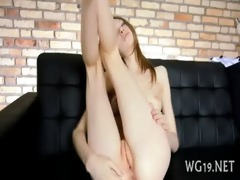 girl plays with sex toy