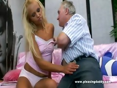 juvenile bitch pleases her sugardaddy with her