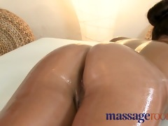 massage rooms tiny dark brown acquires her tight