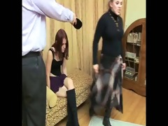 daughter+girlfriend are spanked 82
