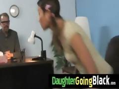 recent dark stepdad punishes sexy daughter for