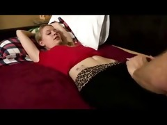 young little legal age teenager drilled by old
