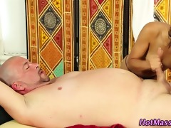 massage tugjob with oral-job sex