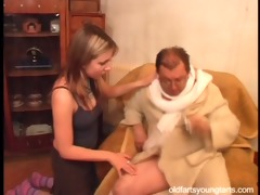 natalli fucking an unsightly old dude - coffee