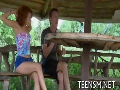 virginal teen in a hawt scene