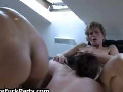fortunate younger boy acquires to fuck those old