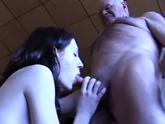 grand-dad acquires a oral stimulation