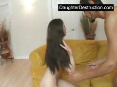 oriental legal age teenager daughter screwed hard