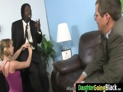 youthful daughter with worthy gazoo drilled by a