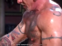 aaron receives flogged and jake receives drilled