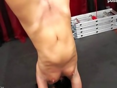 breasty golden-haired non-professional coarse fuck