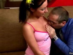 juvenile hawt schoolgirl perverts her old