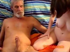 dad drinks daughters milk