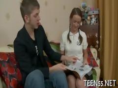 cute legal age teenager rudely used & screwed