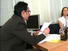 concupiscent teacher seducing legal age teenager
