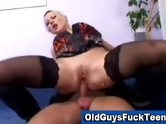old chaps fuck sexy younger chick