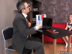pervy old teacher acquires it is on with the