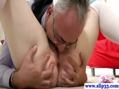 brittish playgirl eaten out and drilled