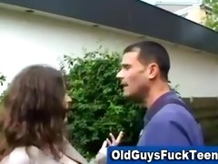 old lad oral by hawt younger hottie