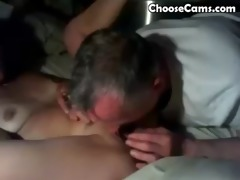 grandpa giving grandma great blowjob sex