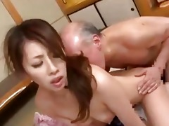 youthful japanese wife amp old fellow