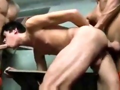 two hawt smooth hung hunk prisoners facefuck then
