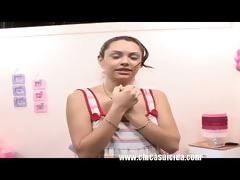 slender legal age teenager julissa casting her