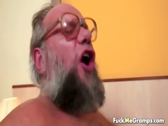 favourable old bastard bangs pleasant hotty