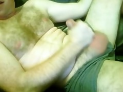 hirsute lustful married dad wanks