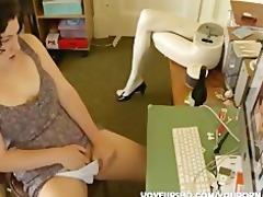 sister watching porn and masturbation
