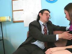 sex lesson with lascivious teacher
