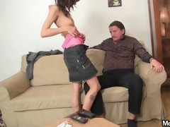 oral job orgy with his parents