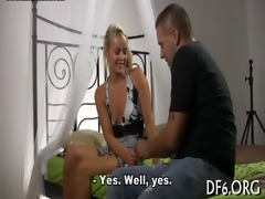 virgin mistress shows wench